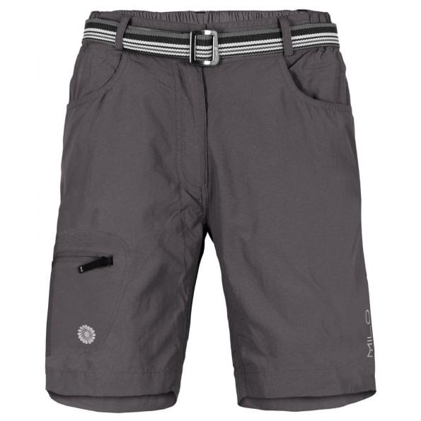 Milo Patna dark grey - outdoorové krátke nohavice