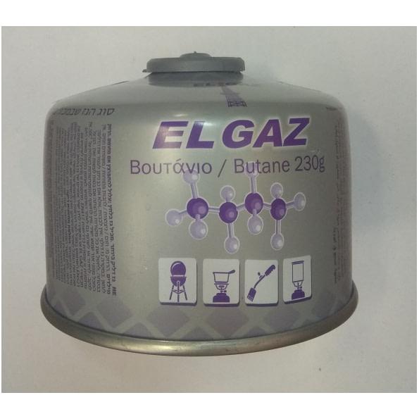 Plynová kartuša propán/bután  230 g - šróbovacia