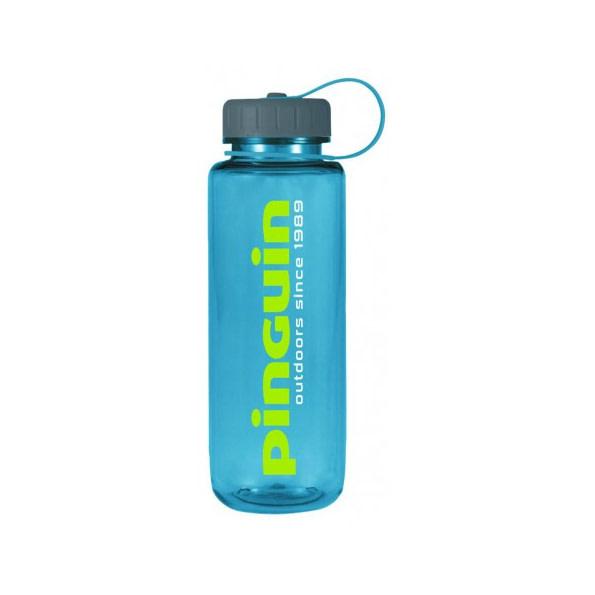 Pinguin Tritan slim bottle 650 ml modrá