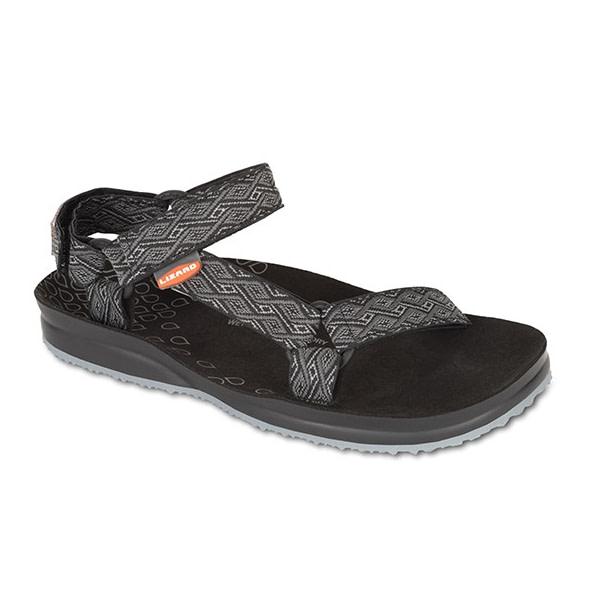 Lizard Creek IV etno black | outdoorové sandále